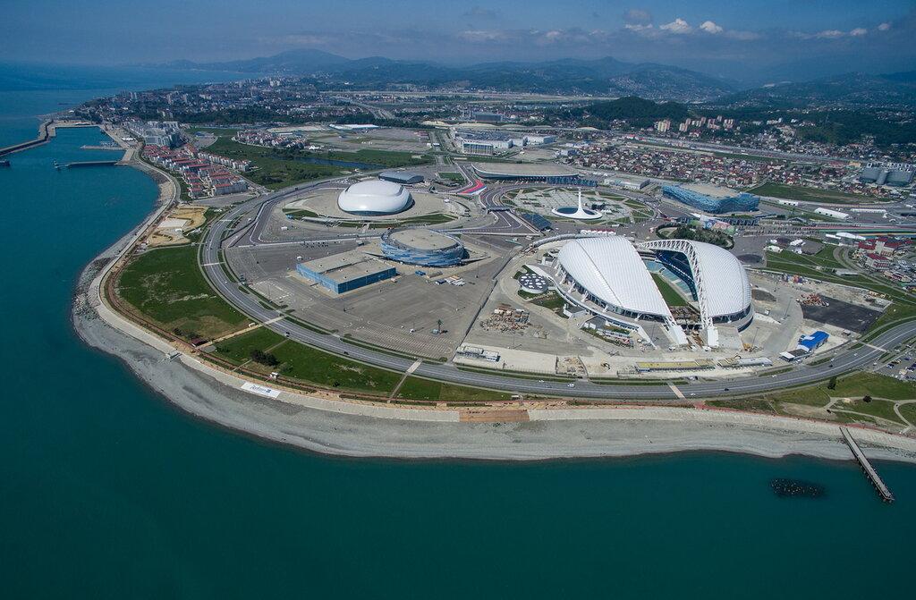 Стадион Фишт на территории Олимпийского парка в Сочи|Fisht Stadium in Sochi'\''s Olympic Park