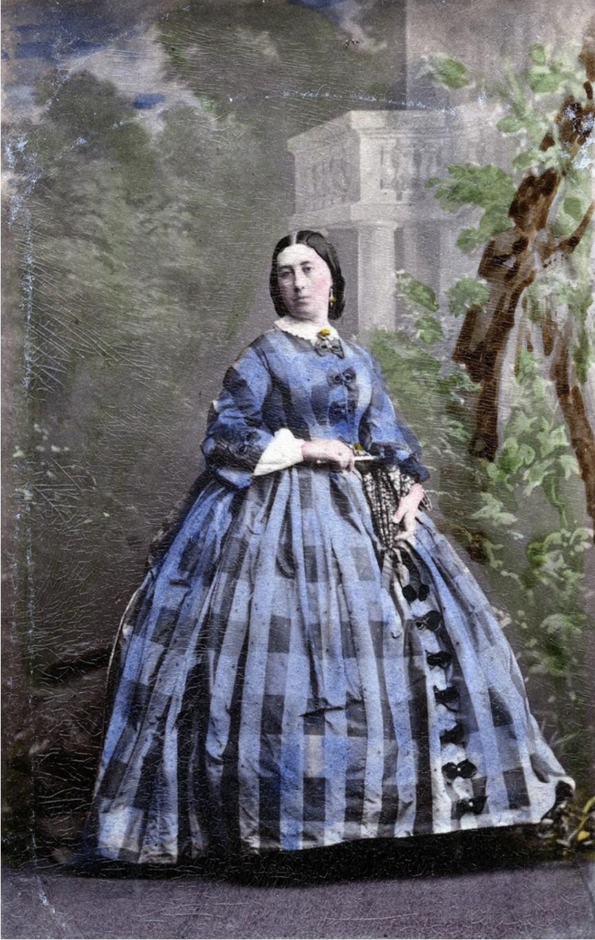 1860. Портрет леди