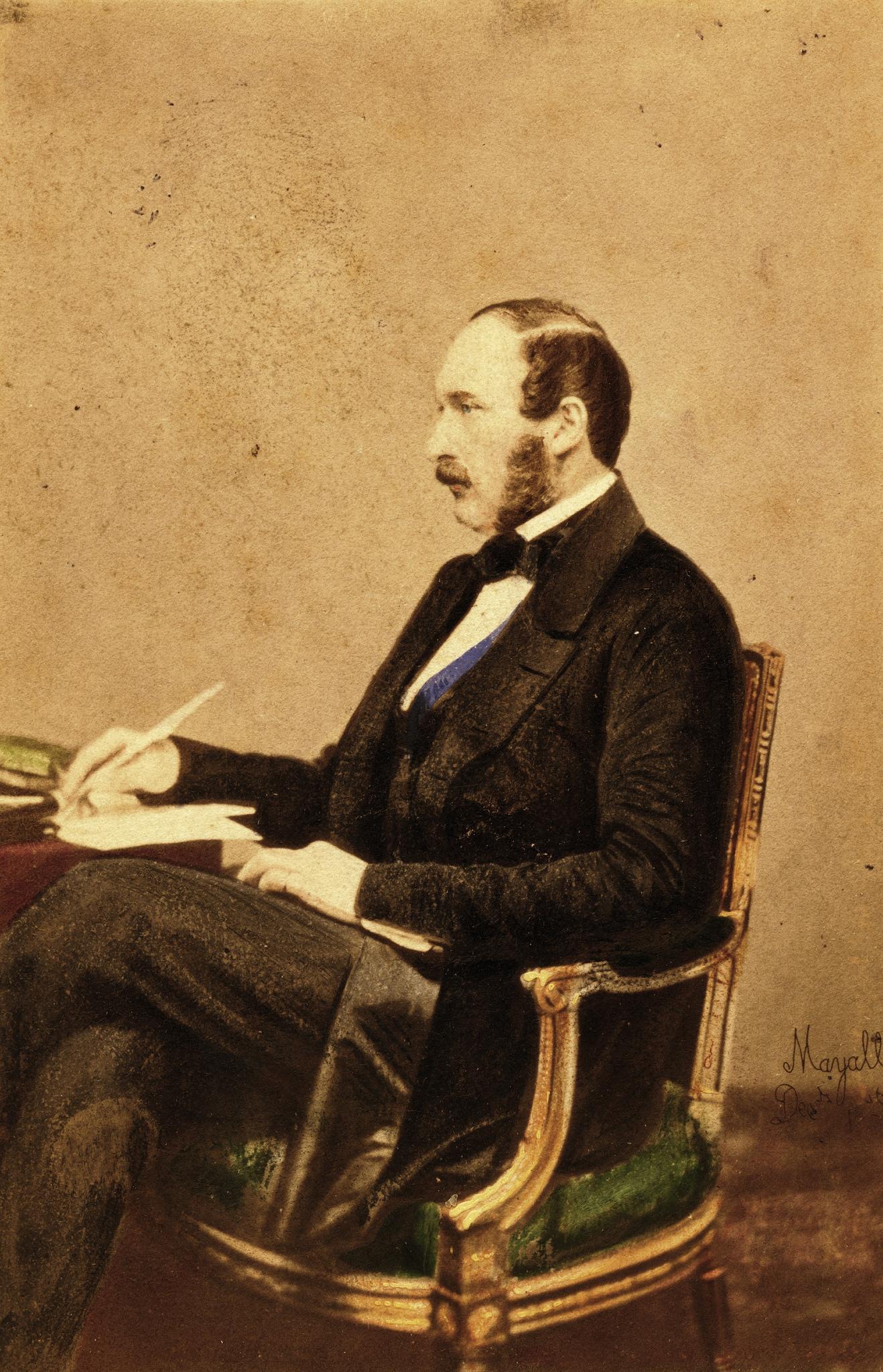 1861. Принц Альберт, декабрь