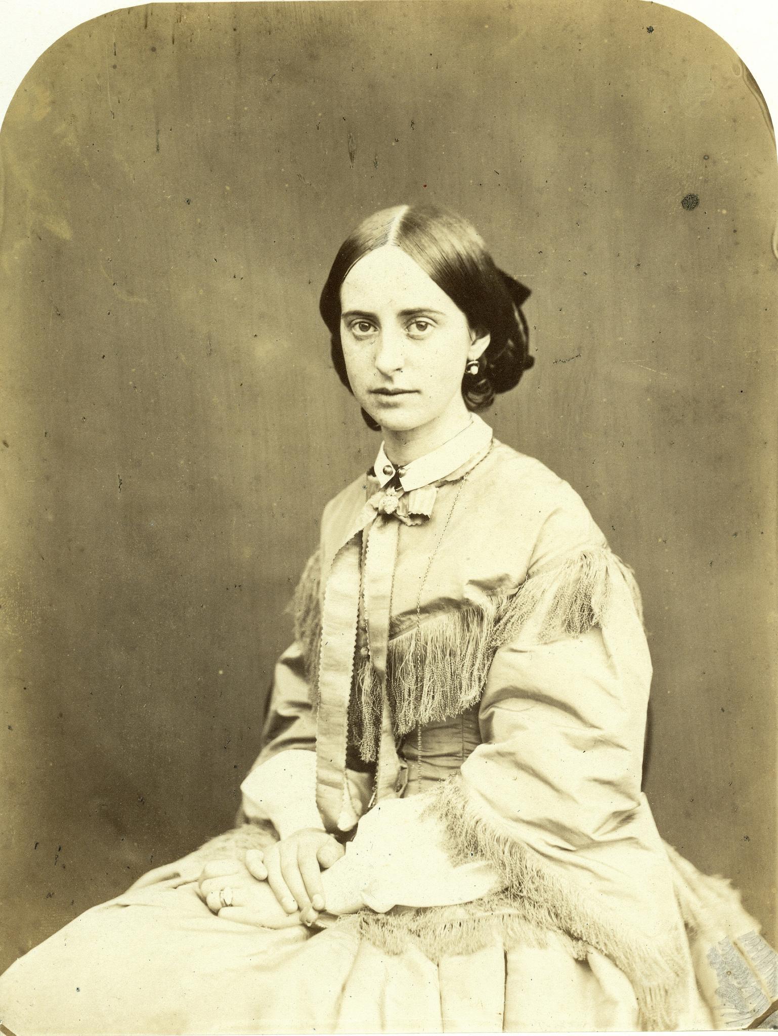 1856. Леди Эвелин Мэри Кравен