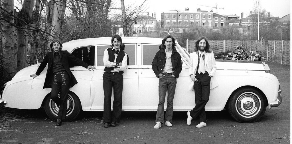 The Beatles with John's Rolls Royce Phantom V.jpg