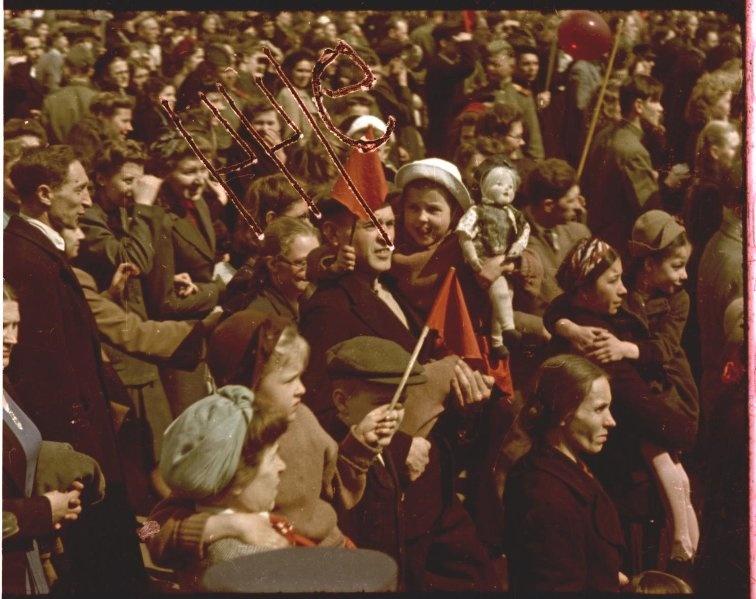 Первомайская демонстрация 1947 г. в Москве. Владислав Микоша9.jpg