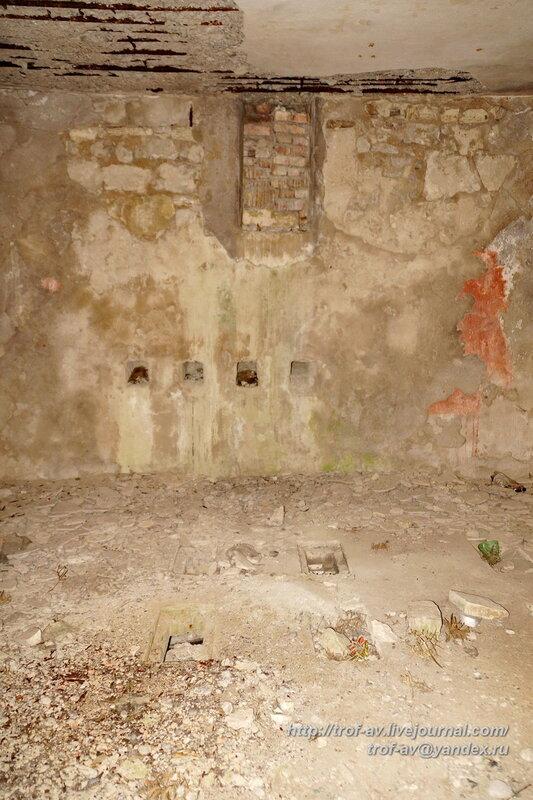 Немецкие артпозиции и укрепления на мысе Святого Ильи, Феодосия