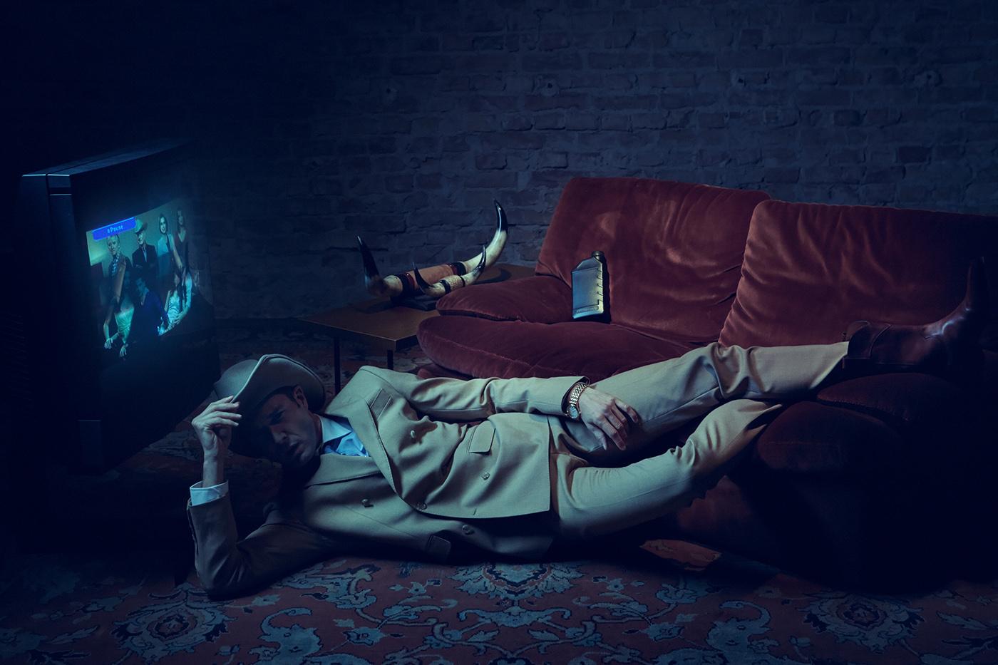 A CINEMATIC OBSESSION / фотограф Yves Borgwardt