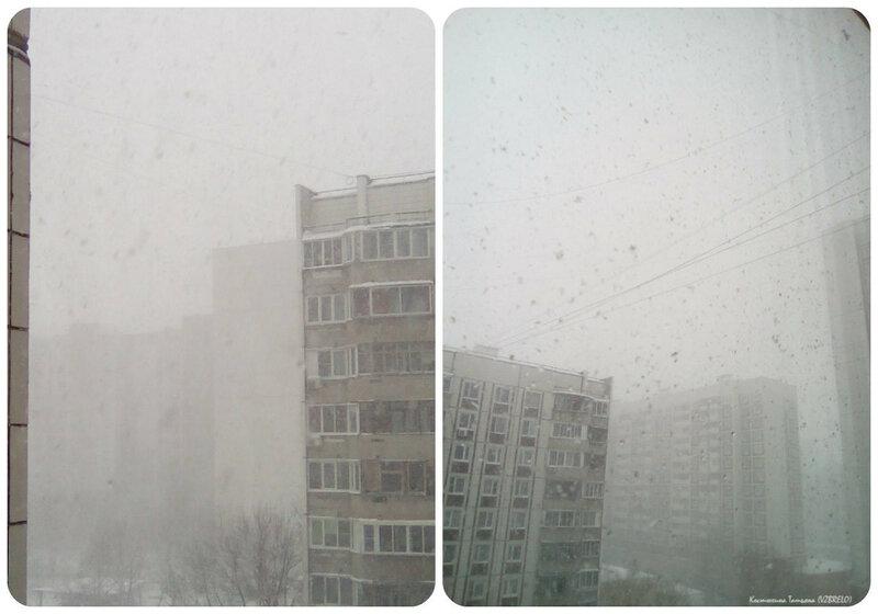 Зима, Москва, снег, погода