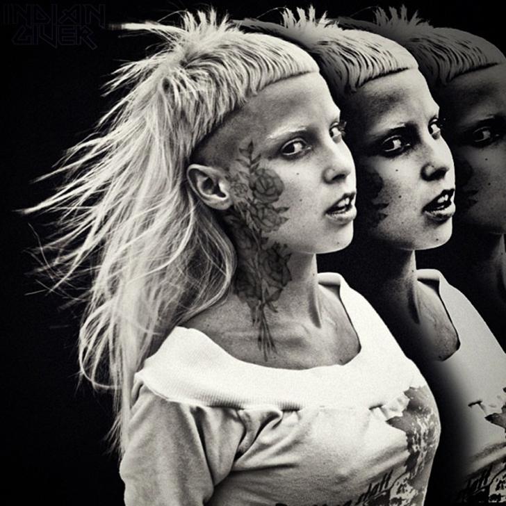 Солистка группы Die Antwoord Йоланди Фиссер.
