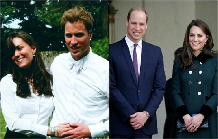 Кейт Миддлтон и принц Уильям .