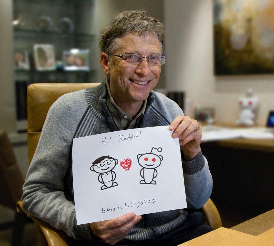 Сайты по интересам Билл Гейтс: «Онлайн-сообщества будут формироваться по интересам, а не по местопол