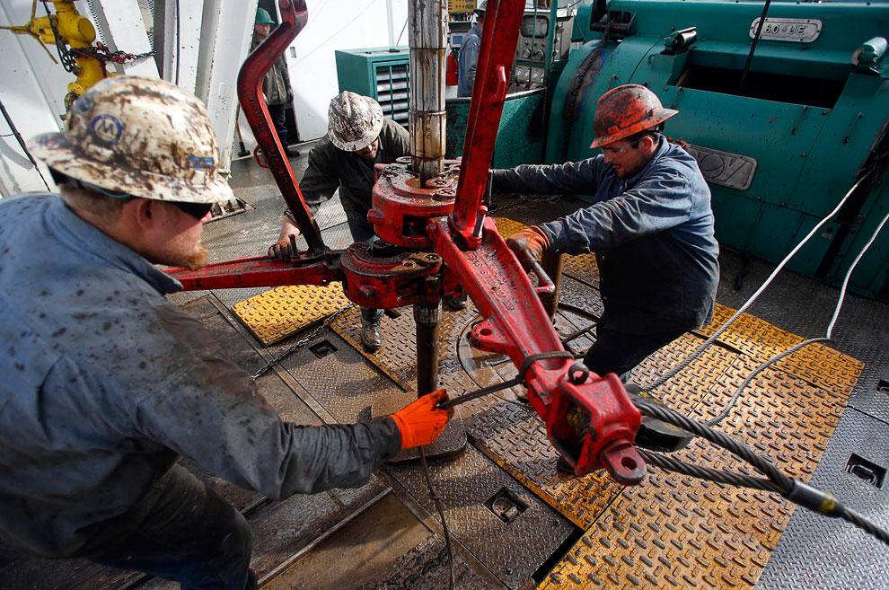 Добыча сланцевой нефти с помощью горизонтального бурения и гидроразрывов началась в формации