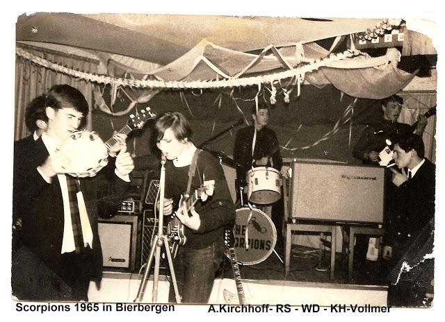 Wind of Start: редкие кадры группы Scorpions в самом начале их карьеры