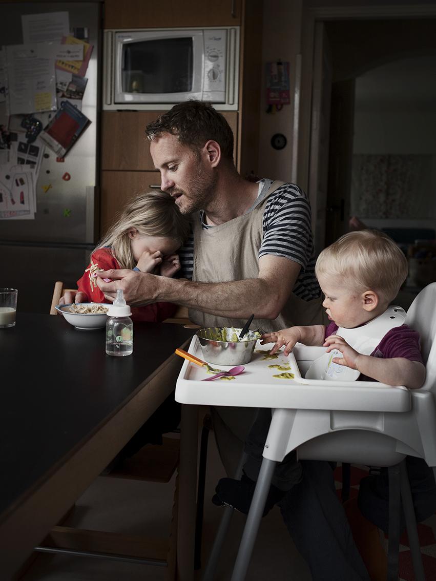 Йуан Кардэнал, 34 года. За сыном Илво и дочерью Алмой присматривал по 9 месяцев.