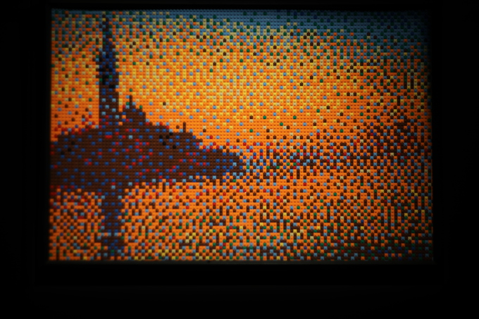 Искусство Лего - сенсационная выставка в Петербурге