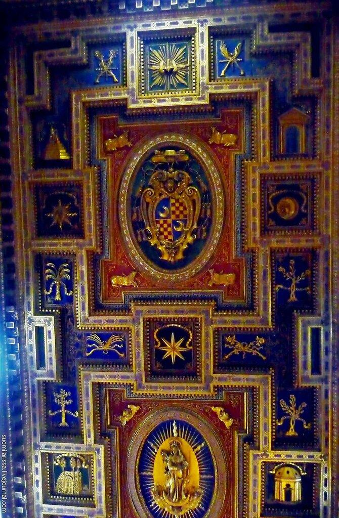 Кассетный потолок 1592 года
