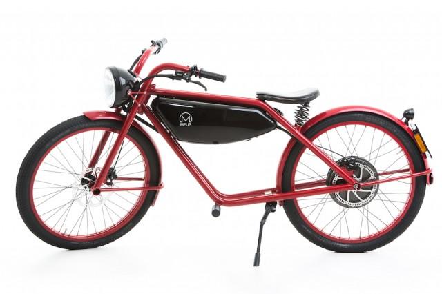 Bike-Like Electric Moped