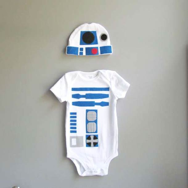 Cute R2-D2 Bodysuit for the Baby you are looking for