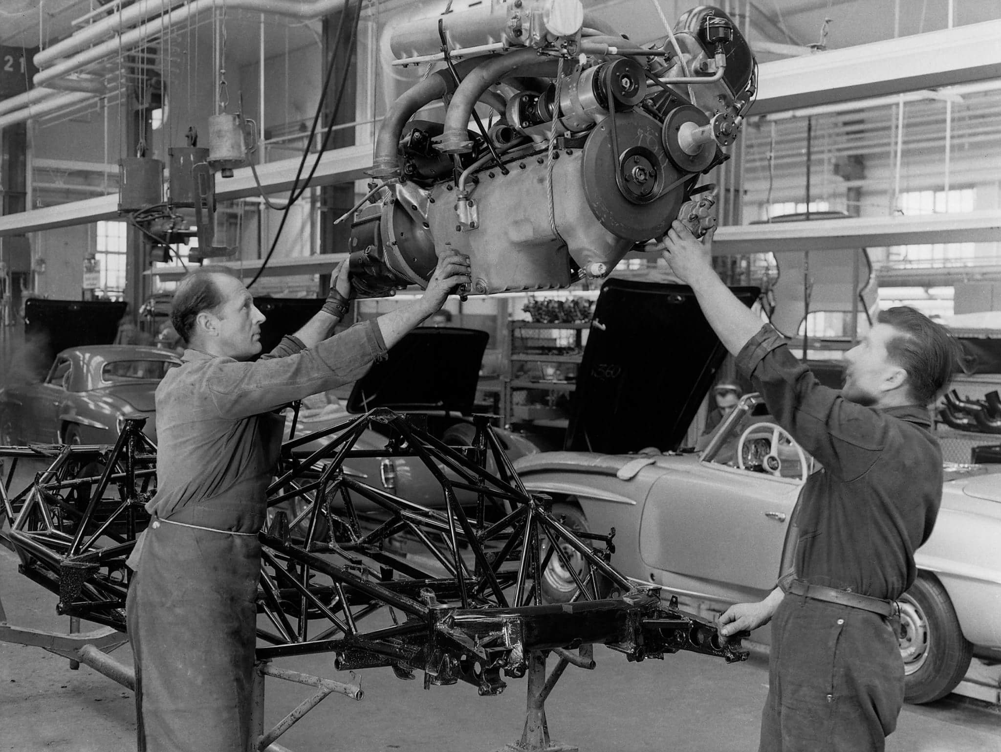 Assembly Mercedes-Benz, 20 February '1958