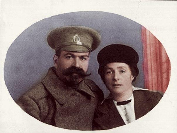 Янкель Юровский с женой Марией Яковлевной. 1915 г.