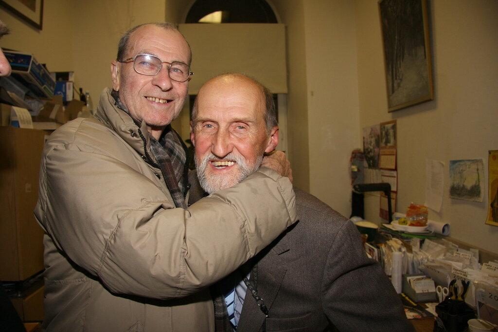 Владимир Мотыль и Валерий Кострин