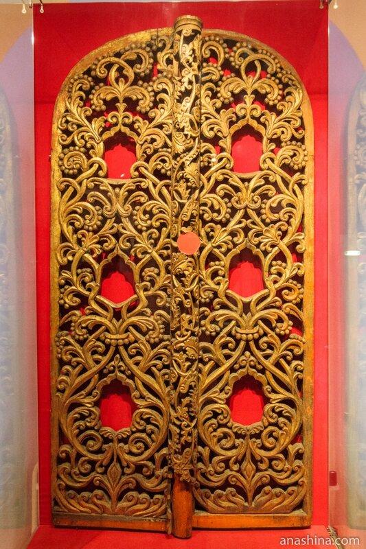 Царские врата. Из Успенской церкви Александро-Куштского монастыря