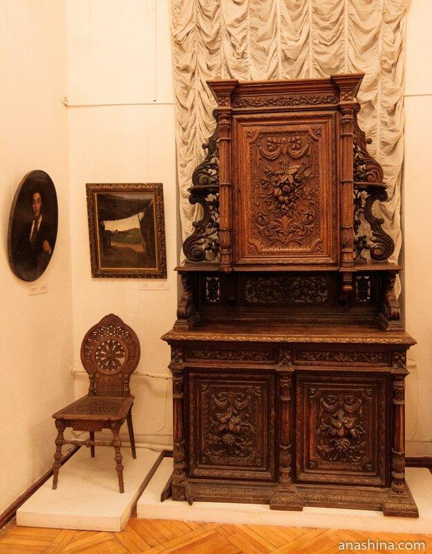 Стул и буфет, Художественный музей, Череповец