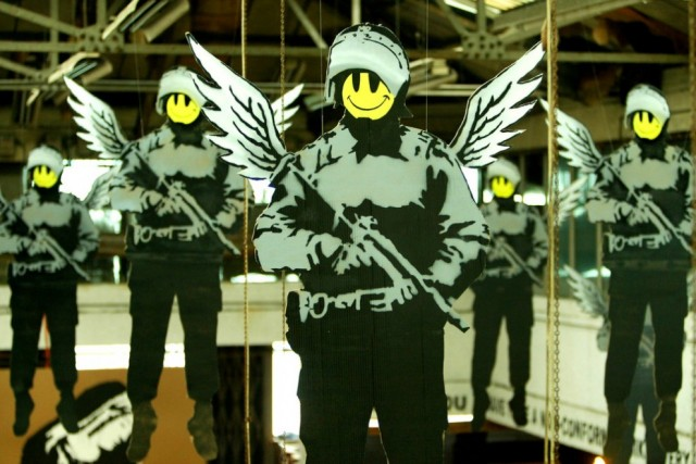 Society Seen Through The Prism of Banksy Art