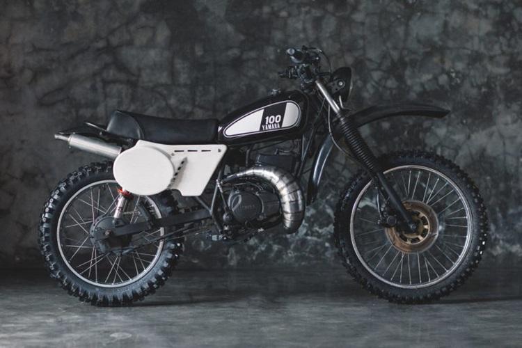 Peloton Supershop: скрэмблер Yamaha RX-Z