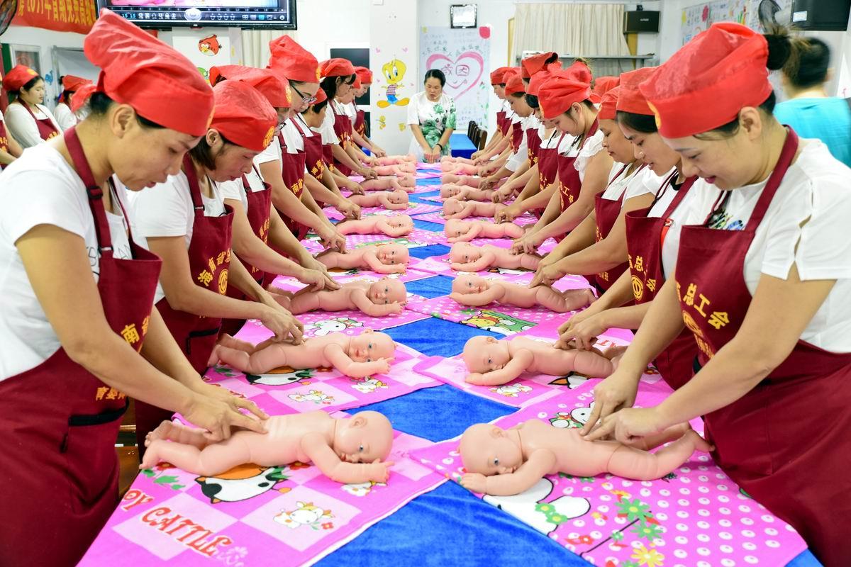 Делай раз и делай два: На курсах детского массажа в Китае