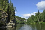 Река Чусовая.