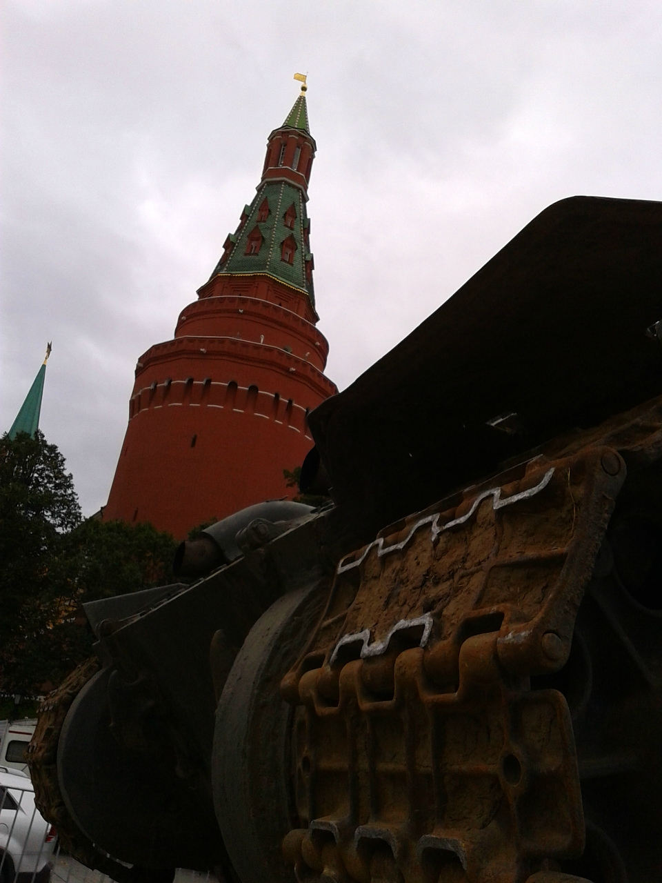 танки из Увидеть Сталина
