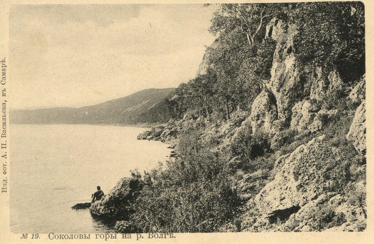 Окрестности Самары. Соколовы горы на реке Волге