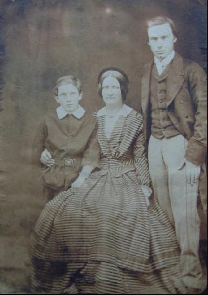 1860. Г-жа Х. Хенслоу и сыновья