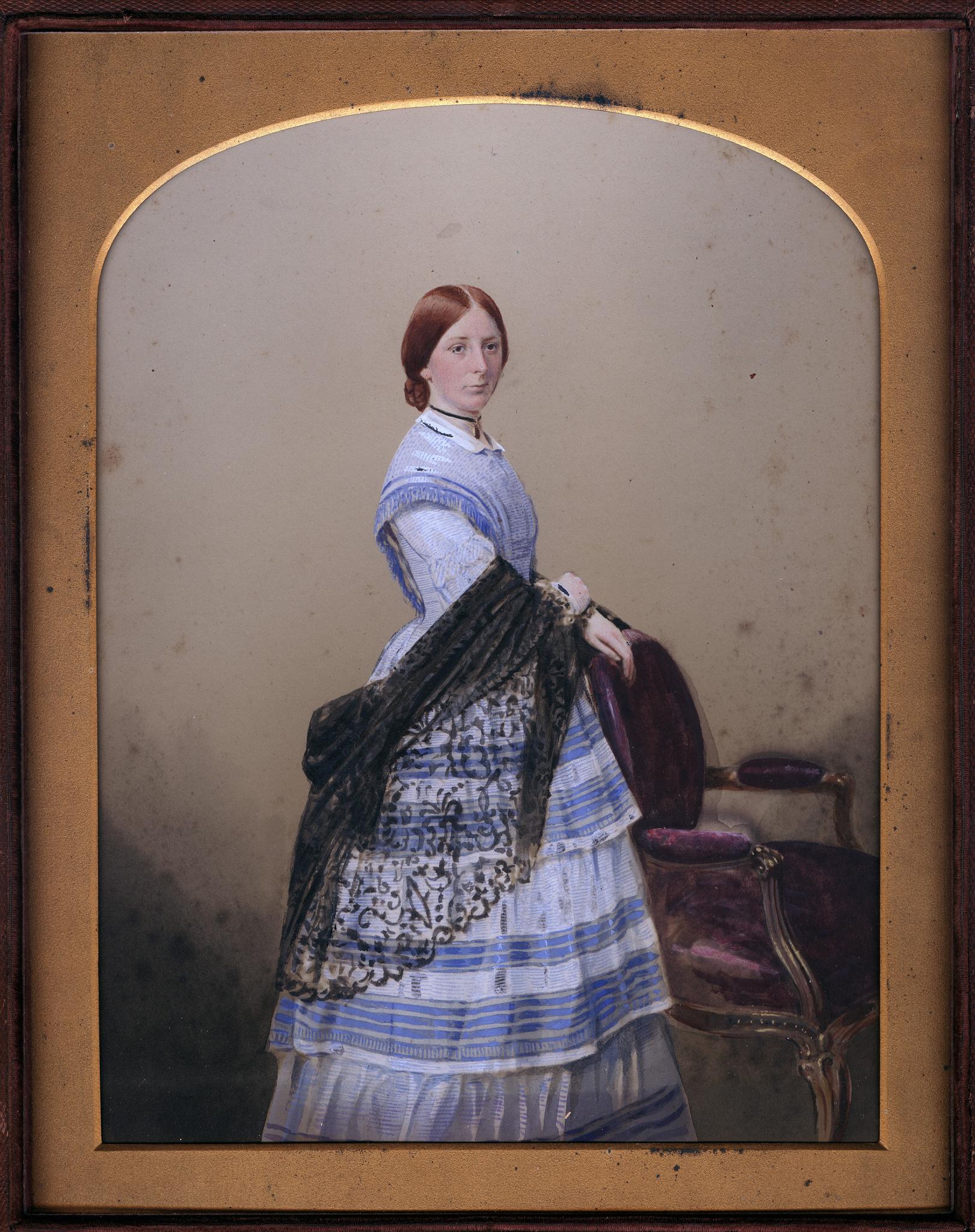 1860. Мисс Кэмпбелл