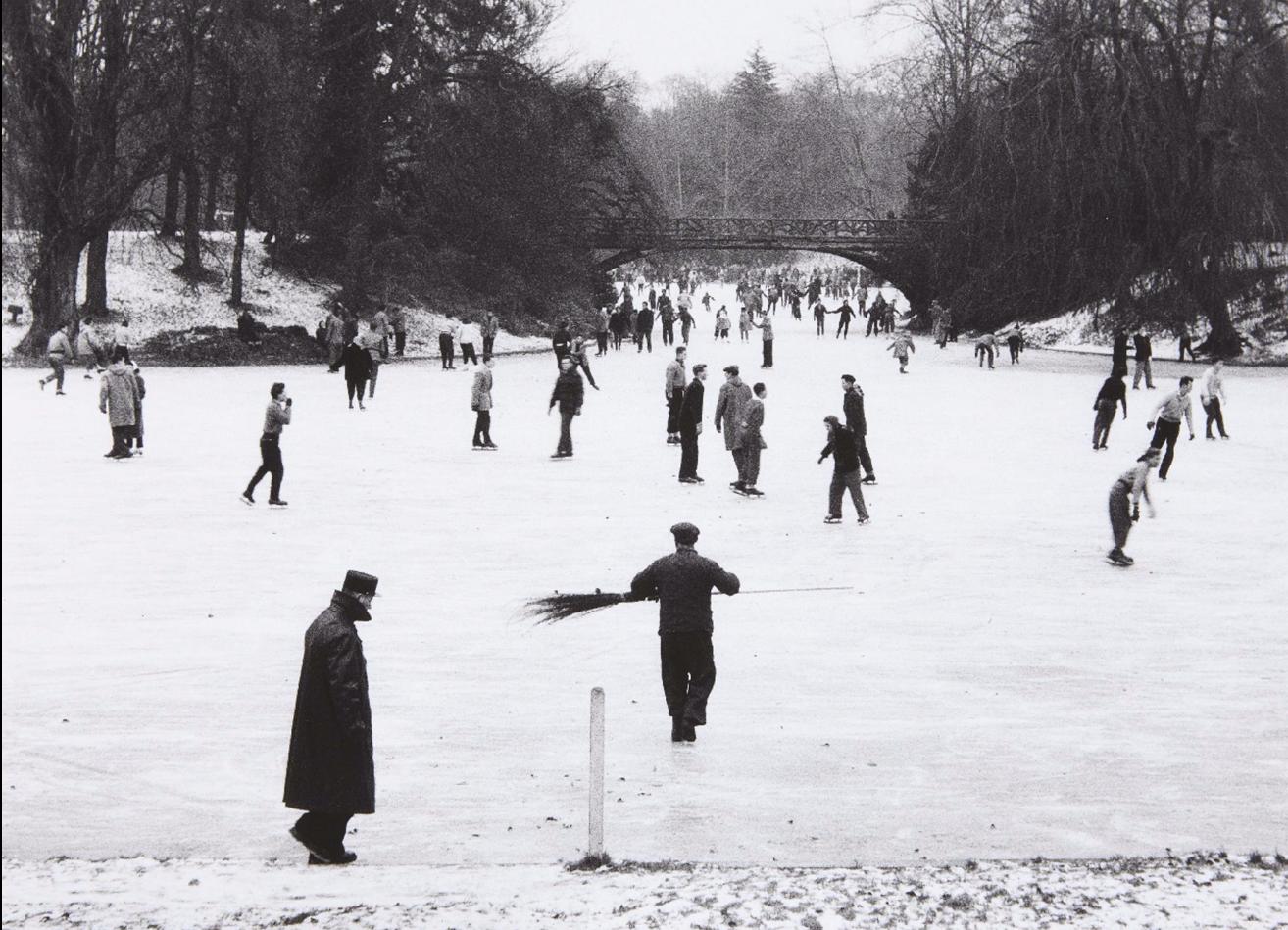 1954. Озеро в Булонском лесу