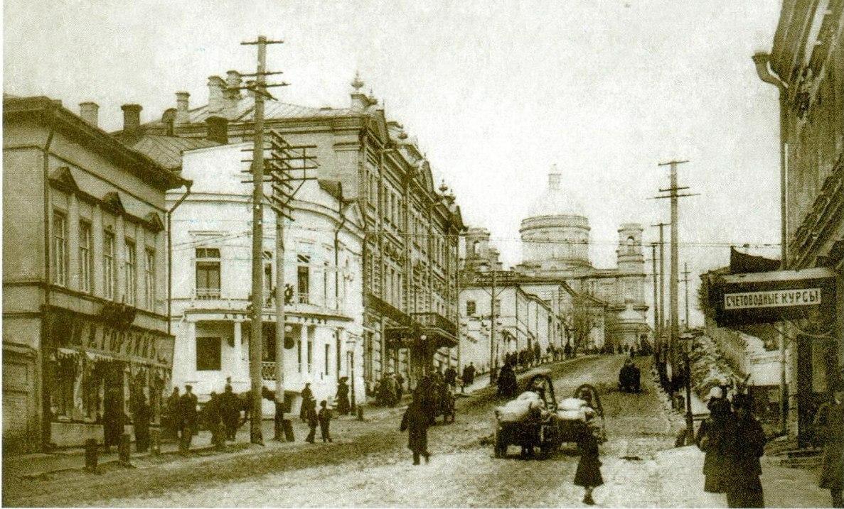 Поперечно - Воскресенская улица