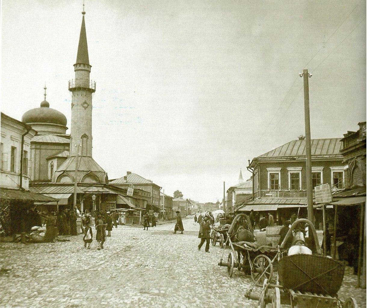 Сенной базар и мечеть