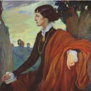 портрет поэтессы