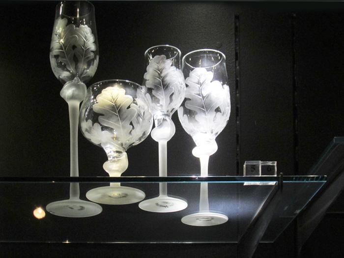 музей стекла черный зал СПБ