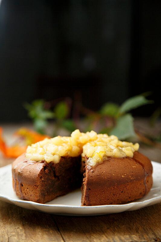 Пирог с пряностями - Gewürzkuchen.