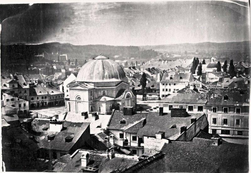 1862 Синагога Темпель на площади Старый Рынок во Львове.jpg