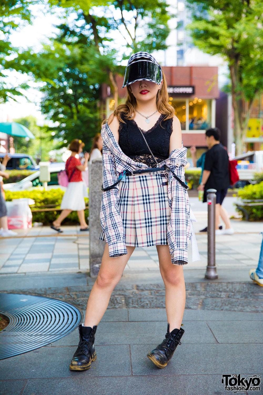 Модные персонажи на улицах Токио (07.09.17)