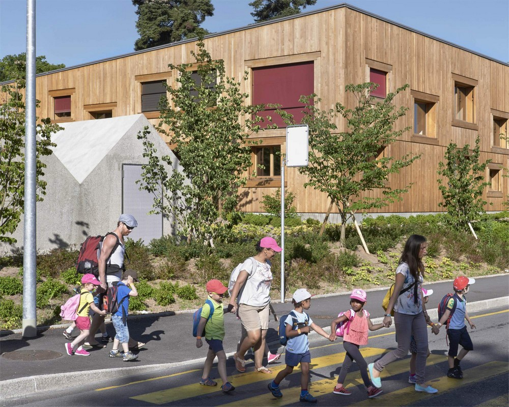 Современный детский сад в Женеве