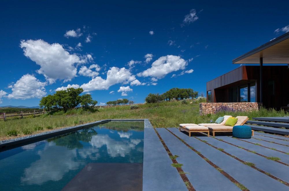 Дом на ранчо в США