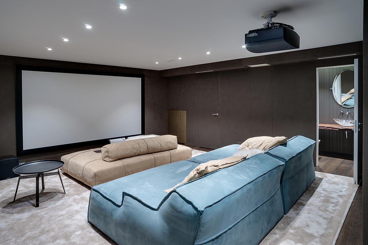 интерьеры: фотосъемка домашнего кинотеатра