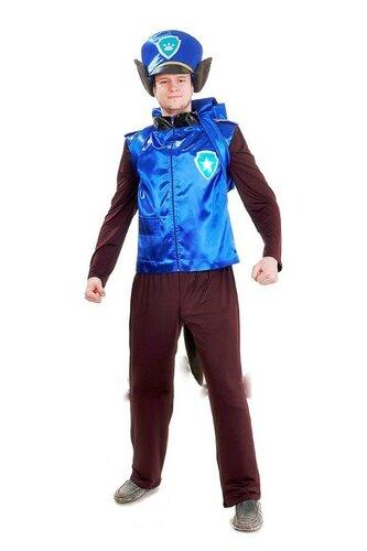 Мужской карнавальный костюм Чейз (щенячий патруль)