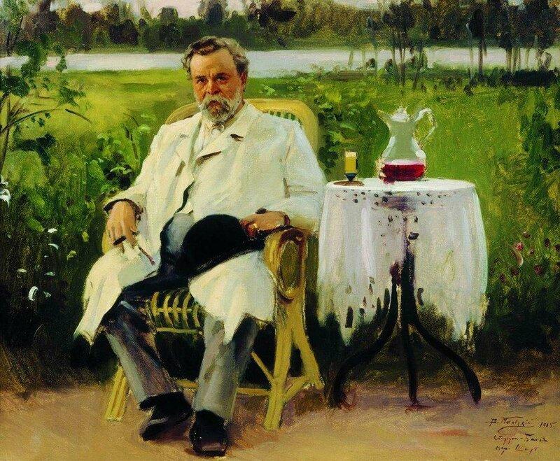 Портрет Ивана Евменьевича Цветкова. 1905 Вл. Мак