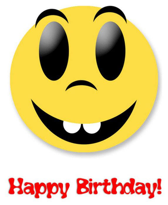 День рождения смайлика! Поздравляем!