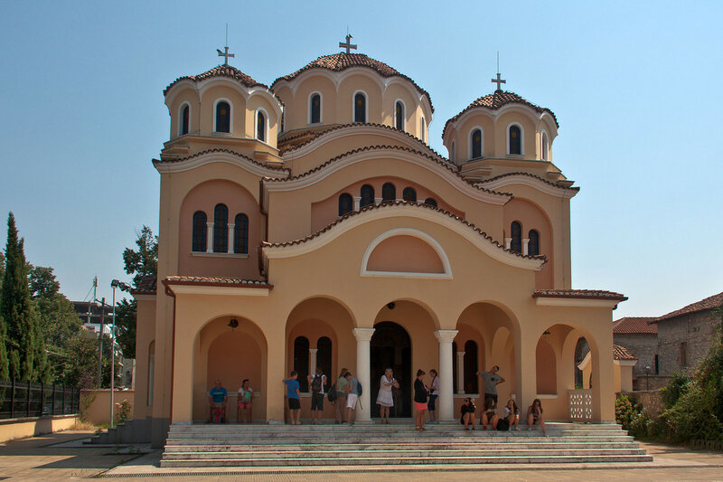 Православный храм в Шкодере (Церковь Рождества Христова)