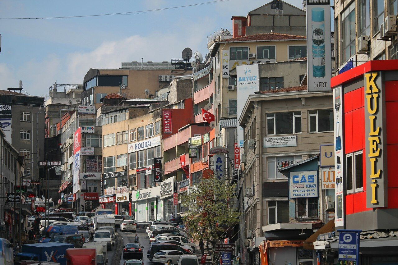Istanbul. Demirtaş Quarter. The view from the Park Ichi Yola