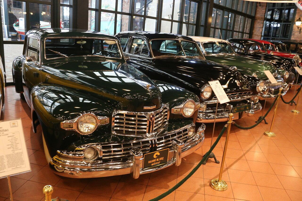 Стамбул. Музей Рахими Коча.  Lincoln Continental 1948 г.