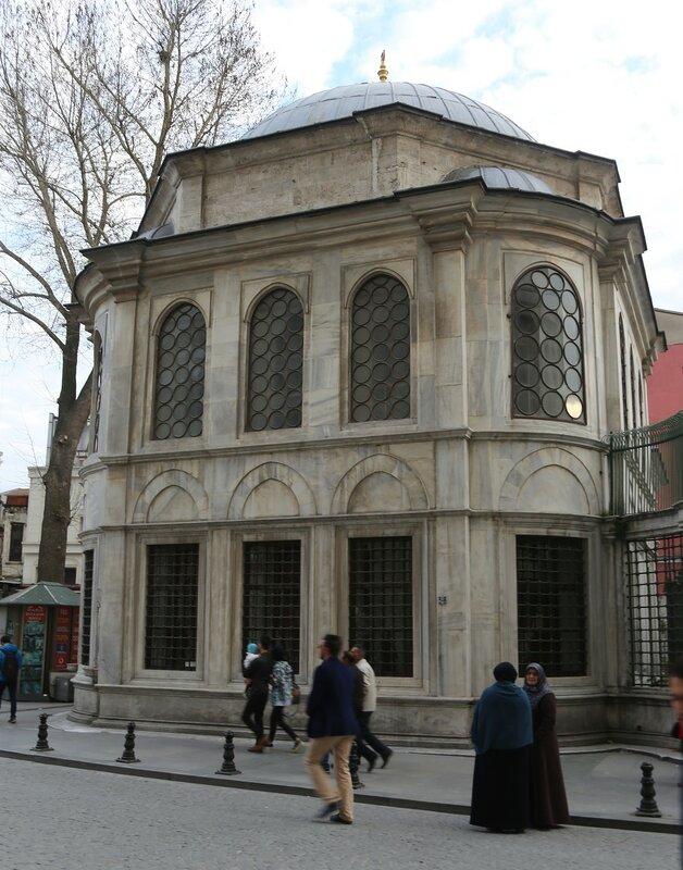 Istanbul. The mausoleum of Sultan Abdulhamit I (Sultan I. Abdülhamit Türbesi)